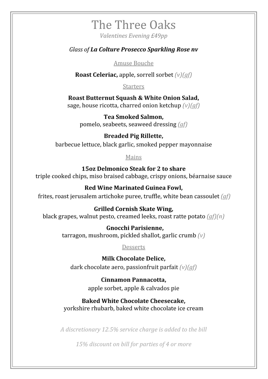 Valentines Day Menu 2018_amended